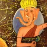 Ganesh waves at passing universe